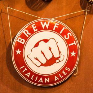 Targa da interno Brewfist Italian Ales