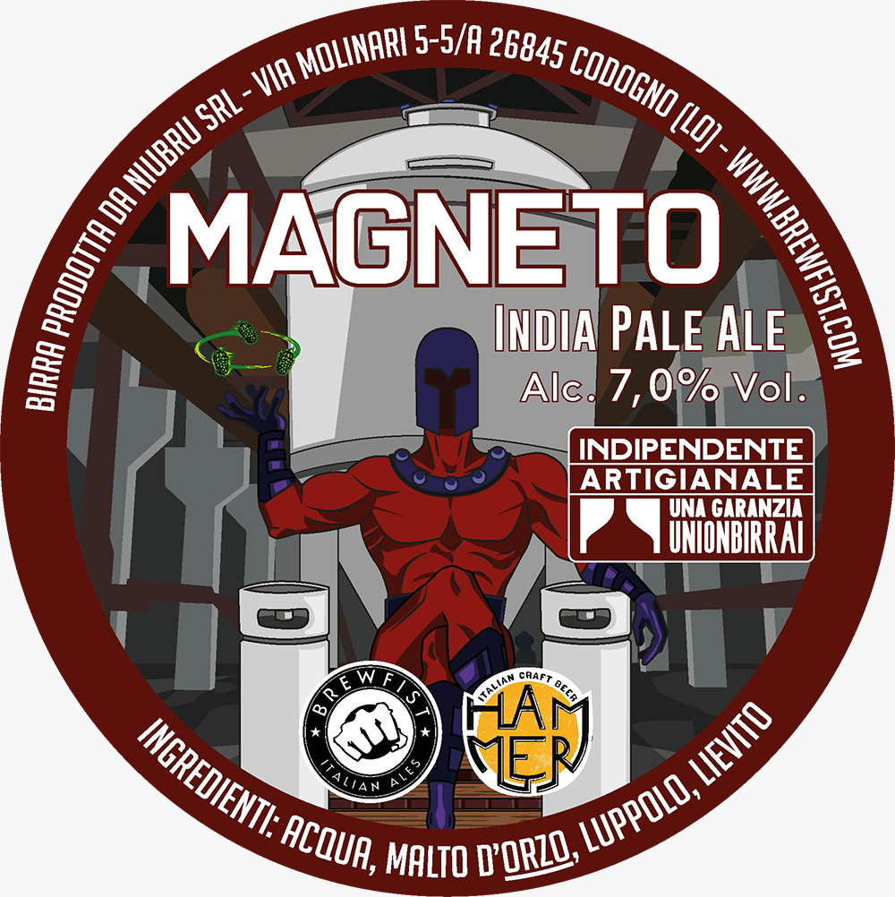 Hammer x Brewfist: Magneto!